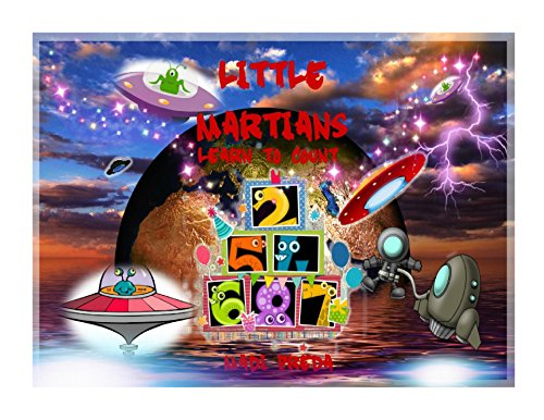 Book cover image for Little Martians Learn to Count