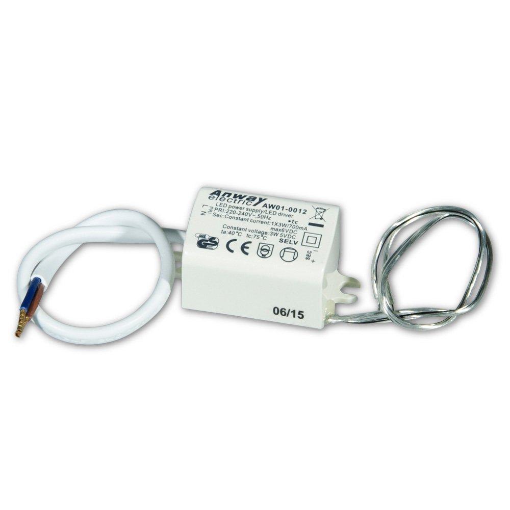 00011835 - ANWAY LED Treiber AW01-0012 3W/700mA/6V