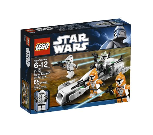 LEGO Star Wars Clone Trooper Battle Pack 7913 (Discontinued by (Trooper Battle Pack)