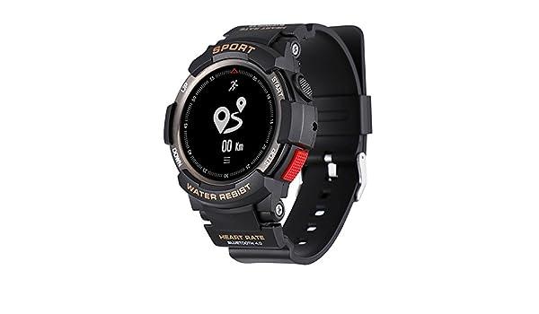 No.1 F6 Smartwatch Bluetooth Pedometro Cardiofrequenzimetro ...