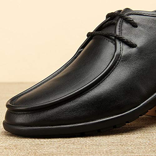 Black Lavoro Da Scarpe Uomo Formale Aziendale Lavoro Eleganti Pelle Casual Scarpe Comodo Da In Uomo 40 Da Scarpe CxpaHOtq