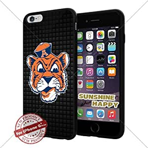 New Auburn Tigers, Football NCAA Sunshine#3976 Cool iPhone 6 Plus - 5.5 Inch Smartphone Case Cover Collector iphone TPU Rubber Case Black