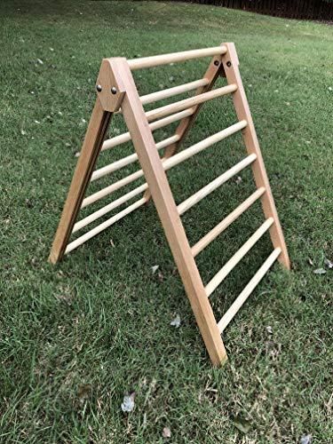 Pikler Climbing Triangle Wooden Climbing Ladder For Kids Foldable Kid Toys 4