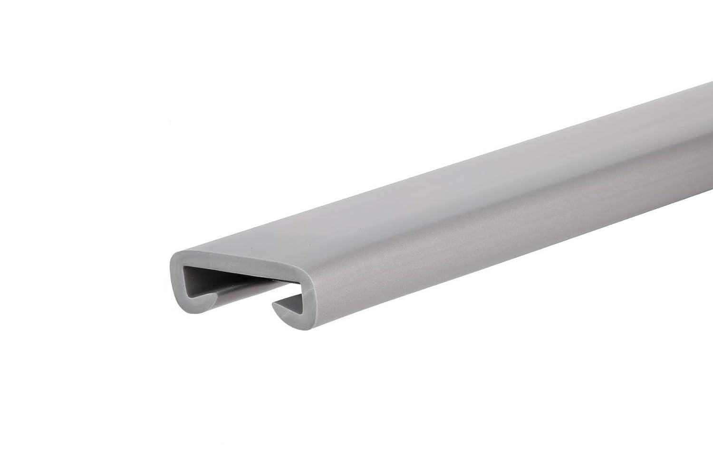Handlauf Main courante en plastique PVC pour escalier 40 x 8 mm 1 m