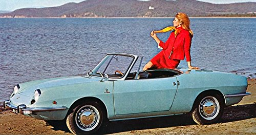 Spider 850 Fiat (1969 Fiat 850 Sport Spider Bertone Factory Photo)