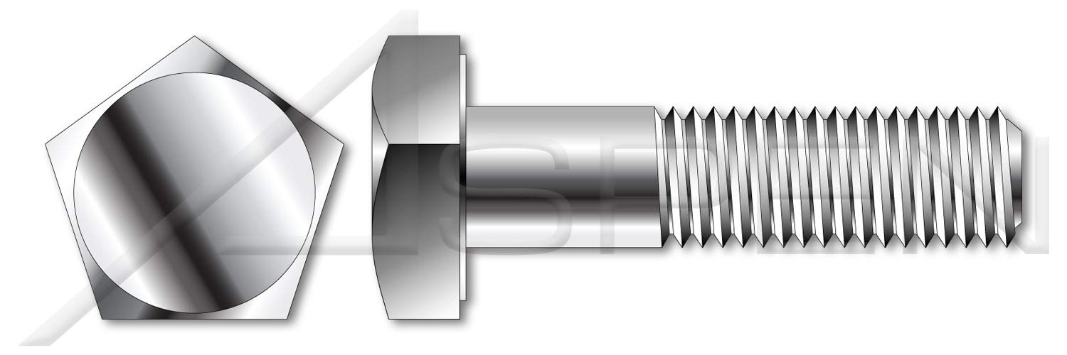 (12 pcs) 3/8''-16 X 1-1/2'', Tamper Resistant Penta Head Security Bolts, AISI 316 Stainless Steel by ASPEN FASTENERS