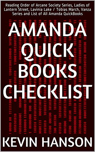 Amanda Quick Books Checklist: Reading Order of Arcane Society Series, Ladies of Lantern Street, Lavinia Lake / Tobias March, Vanza Series and List of All Amanda QuickBooks