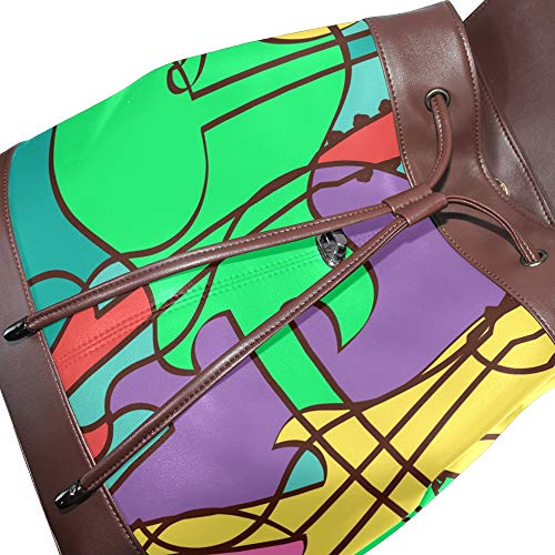 Taille Main Multicolore Unique Femme Porté Sac À Pour Dragonswordlinsu Au Dos wq7pEzC