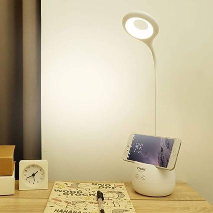 DWLXSH Lámpara de Escritorio con Manguera de Silicona LED ...