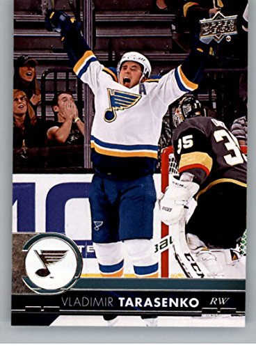 Louis Blues Team Set (2017-18 Upper Deck Series 2 #406 Vladimir Tarasenko St. Louis Blues Hockey Card)