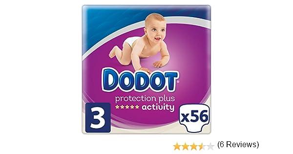 Dodot Pañales Protection Plus Activity, Talla 3, para Bebes de 5-10 kg - 56 Pañales: Amazon.es: Salud y cuidado personal