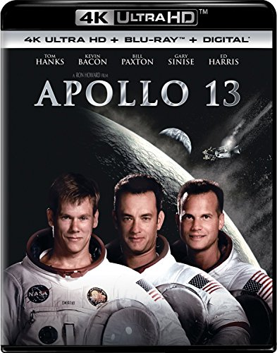 4K Blu-ray : Apollo 13 (With Blu-Ray, Ultraviolet Digital Copy, 4K Mastering, Digital Copy, Digitally Mastered in HD)