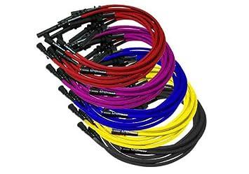 Rendimiento distribuidores Jeep Wrangler LiveWires rendimiento Bujía Cables - c9300-bk: Amazon.es: Coche y moto