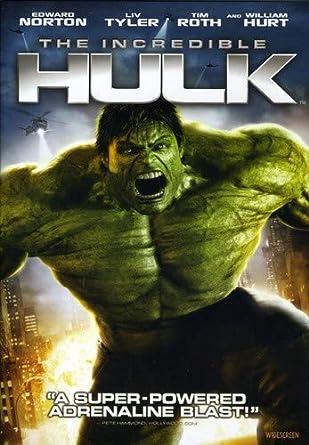 b6543656e2d8 Amazon.com: The Incredible Hulk (Widescreen Edition): Edward Norton ...