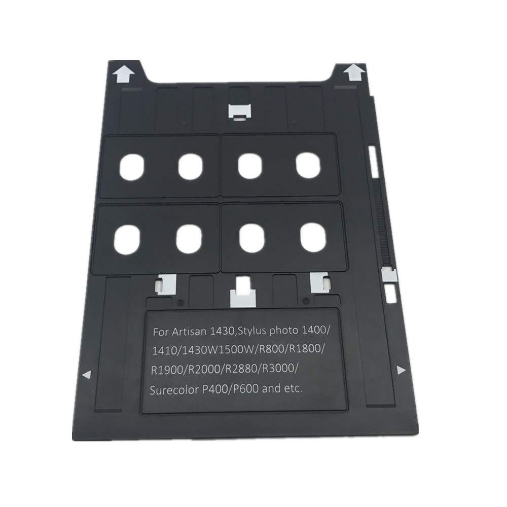 PVC ID Card Tray for Espon A3 Type Printer 1400,1500W,1430 +50X Blank Inkjet PVC Card by CSF (Image #3)