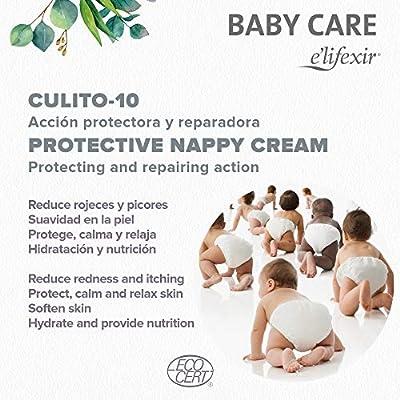 Elifexir Baby Care Culito 10 - Crema Protectora de Pañal | Reduce Rojeces, Picores y Aísla de la Humedad | Hidrata y Calma | Refuerza la Función Barrera | 99% Ingr. Naturales | Hipoalergénica -75ml: Amazon.es: Belleza
