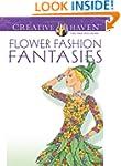 Dover Publications Flower Fashion Fan...