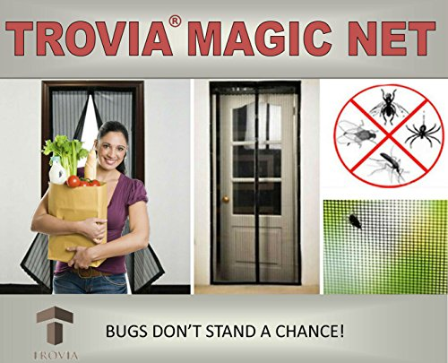 Magic Net Mosquito and Bug Screen Door- New Design With A...