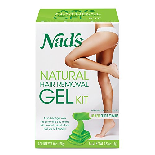 NAD'S Gel Kit with Moisture Plus Body Balm, 6 Ounce (Pack of 3)
