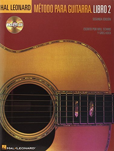 Hal Leonard Metodo Para Guitarra - Libro 2: Spanish Edition Book ...