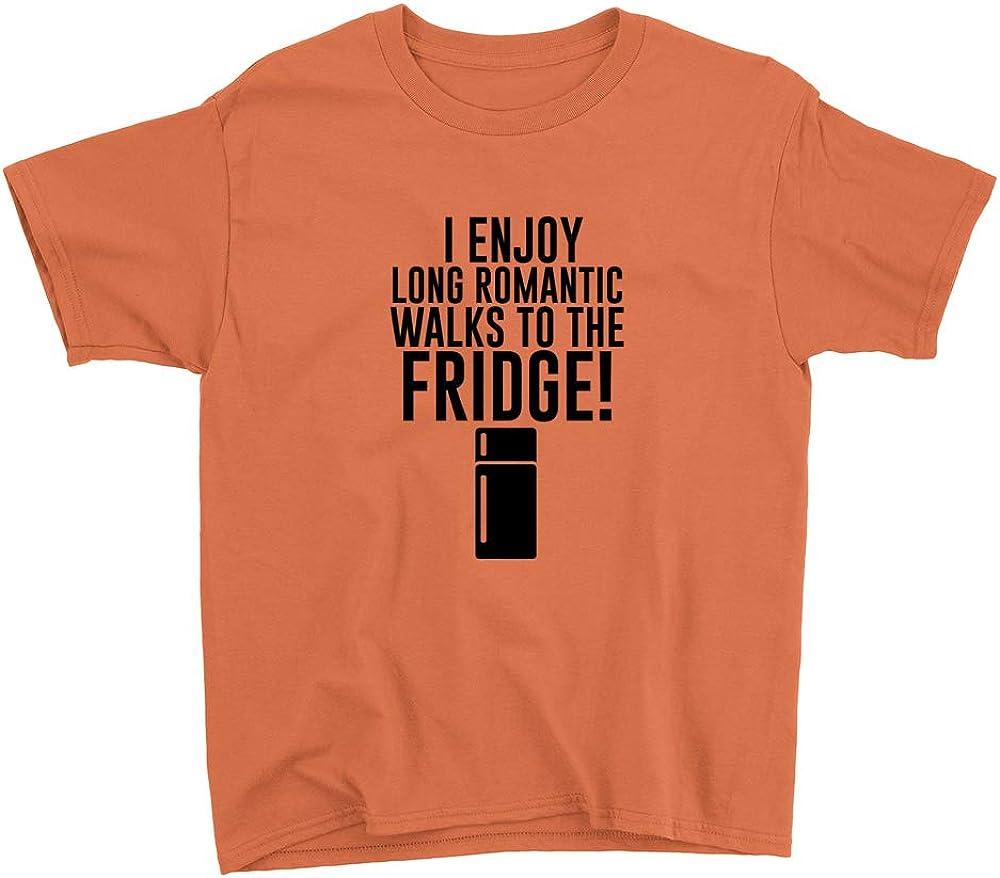 Enjoy Long Romantic Walks Youth T-Shirt