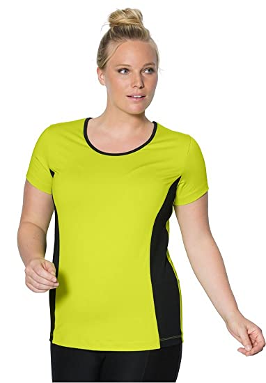 d42b3a5dd89 Bargain Catalog Outlet Fullbeauty Sport Plus Size Sport Tee at Amazon  Women's Clothing store: