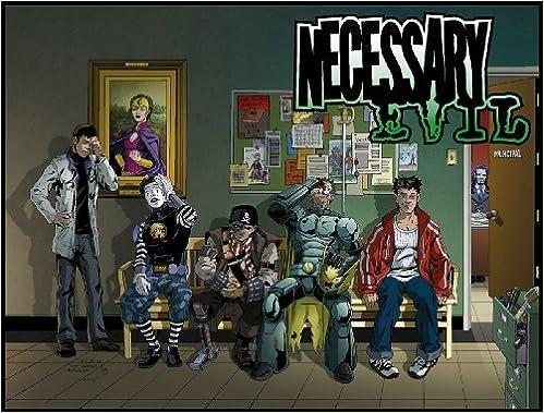 Book Necessary Evil Volume 1 (v. 1) by Joshua Williamson (2008-07-22)