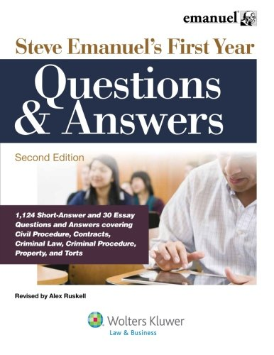 Steve Emanuels First Years Questions & Answers (Academic Success)