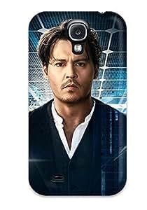Excellent Design Johnny Depp In Transcendence Phone Case For Galaxy S4 Premium Tpu Case
