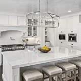 Emliviar 6-Light Kitchen Island Lighting, Modern