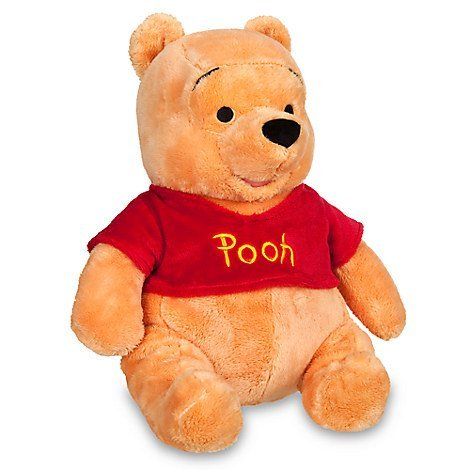 16in Winnie the Pooh Plush - Winnie the Pooh Stuffed Toy by Disney -