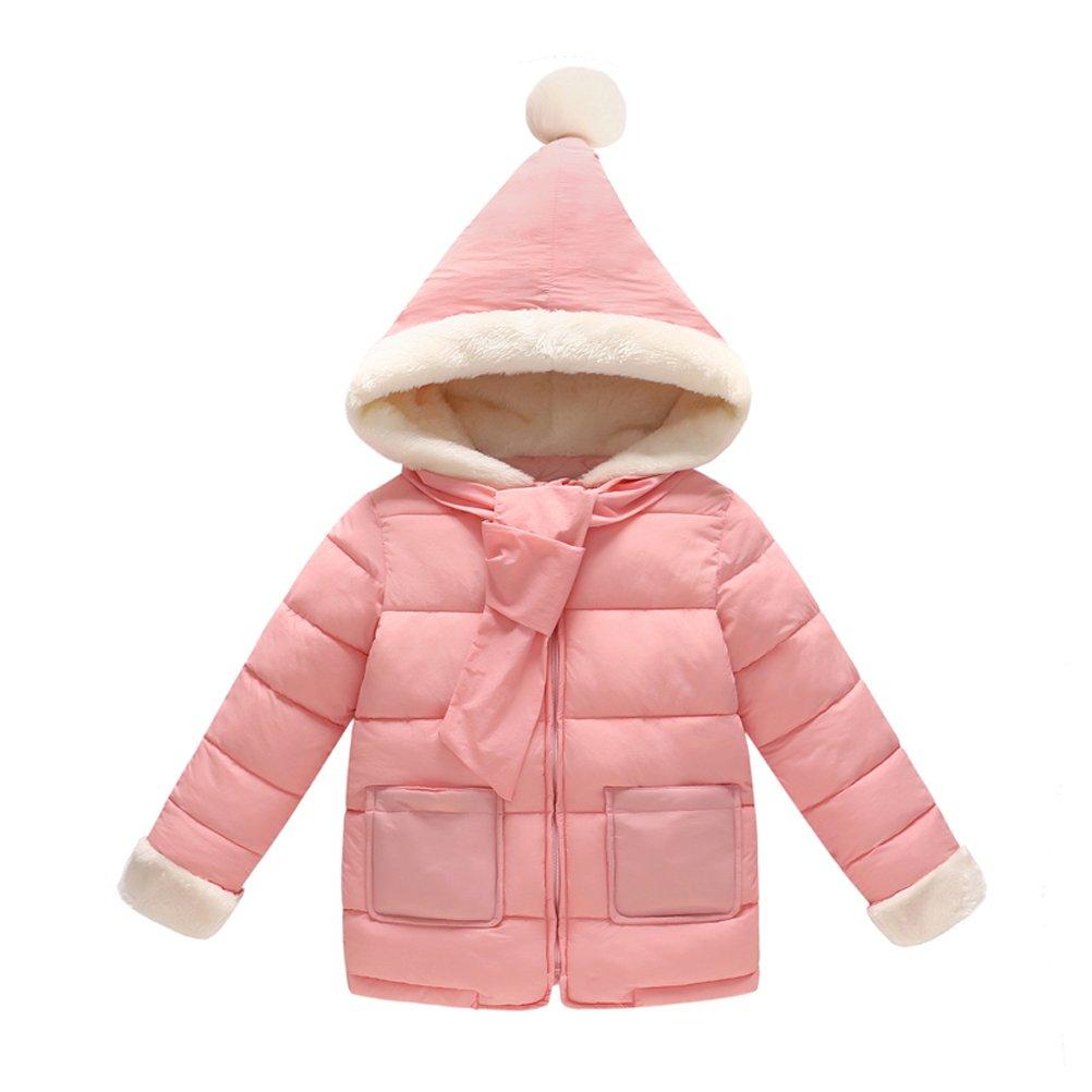 Alovemi Baby Girls Cute Winter Cotton Hooded Warm Coat Jacket Outwear Chirstmas Gift