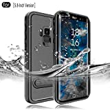 RedPepper Samsung Galaxy S9 Waterproof Case[5.8-Inch], IP68 Certified Full Sealed Underwater Protective Cover, Shockproof, Snowproof, Dirtproof for Outdoor Sports (Black)