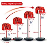 Portable Basketball Backboards, Peleustech 2.4ft-5.6ft Adjustable Basketball Stands - Best Reviews Guide