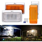 MICTUNING RV Exterior Porch Utility LED Light, 12V Replacement Lighting for RVs, Trailers,
