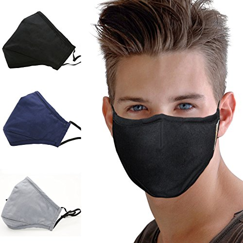 Top 10 Best Activated Carbon Filter Antiviral Face Masks Reviews 2019-2020 - cover