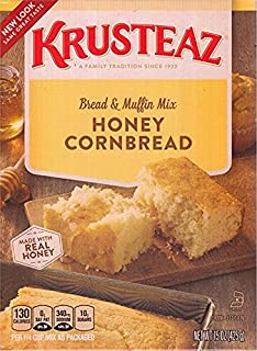 Krusteaz Honey Cornbread & Muffin Mix (Pack of 2)