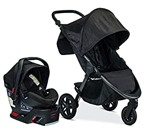 Britax B-Free & B-Safe Ultra Travel System, Midnight (Amazon Exclusive)