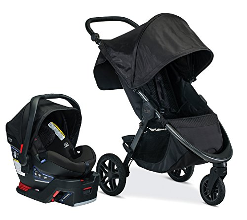 Britax B-Free & B-Safe Ultra Travel System, Midnight