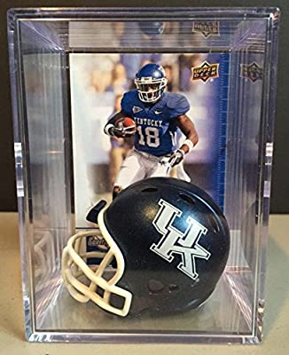 Kentucky Wildcats NCAA Helmet Shadowbox w/ Randall Cobb card