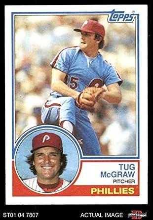 Amazoncom 1983 Topps 510 Tug Mcgraw Philadelphia Phillies