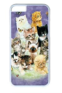 10 Kittens Custom iPhone 5s Case Cover Polycarbonate White