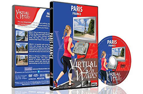 Virtual Walks - Paris, France - For Indoor Walking, Treadmill and Cycling - Virtual Sunglasses