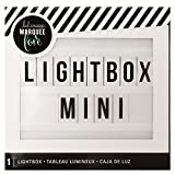 American Crafts White Heidi Swap Mini Lightbox