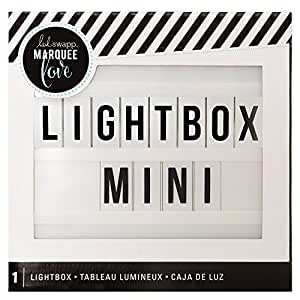 American Crafts White Heidi Swap Mini Lightbox