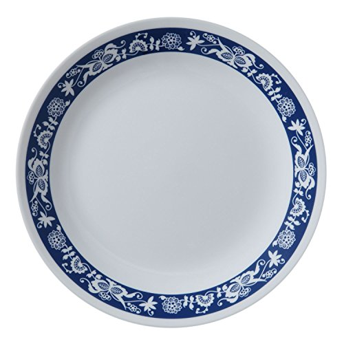 Corelle Livingware True Blue 8.5'' Lunch Plate (Set of 8) by Corelle Coordinates (Image #1)