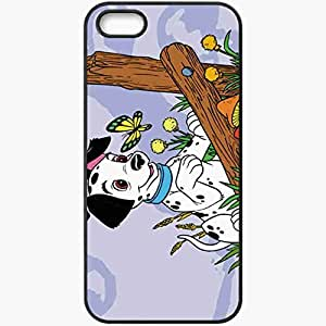 phone covers Personalized iPhone 5c Cell phone Case/Cover Skin 101 dalmations movies Black