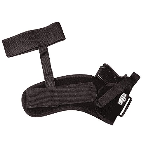 Uncle Mike's Off-Duty and Concealment Kodra Nylon Ankle Holster (Black, Size 0, Right Hand)