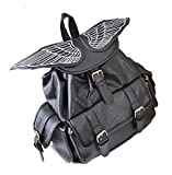 Search : TOKYO-T Wing Backpack Womens Gothic Angel / Devil School Bag Daypack Black