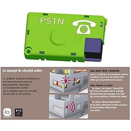 Módulo de transmisión RTC-Alarma SOMFY PROTEXIAL io-2401083 ...